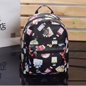 Handbags - Perfume Patterned Mini Backpack (RESTOCKED!!!)
